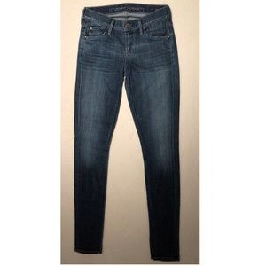 Citizens of Humanity skinny leg jeans.